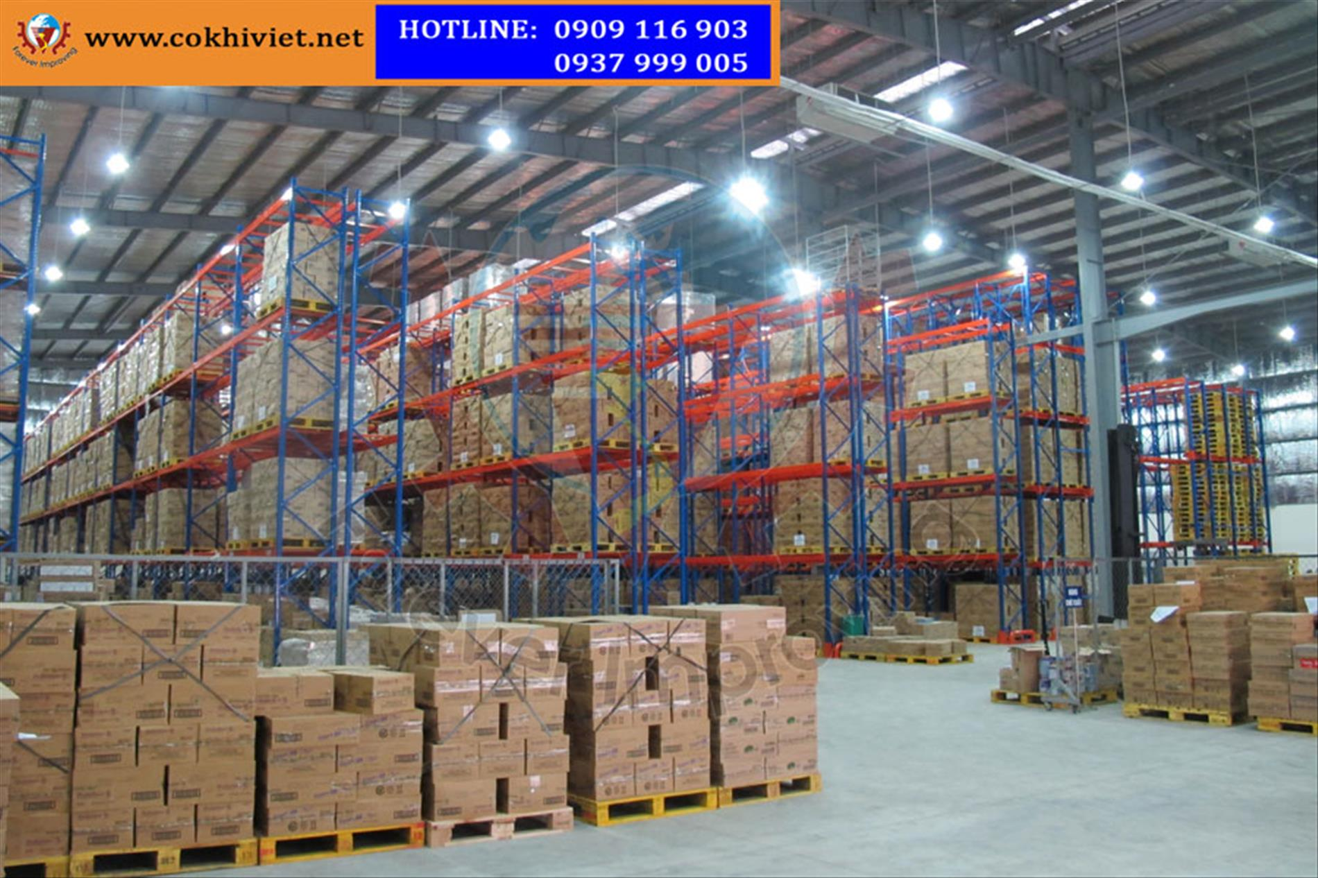 Why do you choose racking system Viet Mechanical for logistic