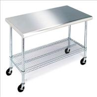 Inox hand trolley 1